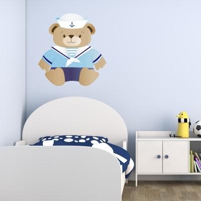 Otroška stenska nalepka - medvedek