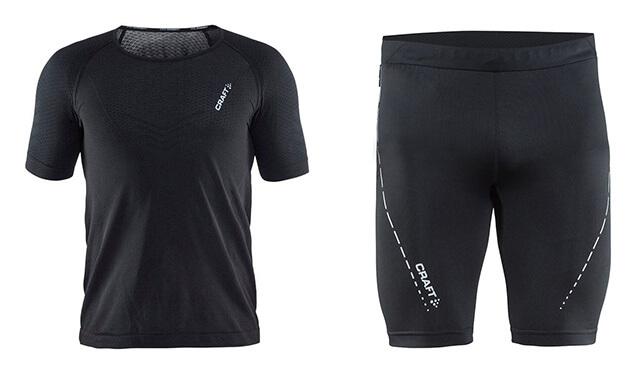Tekaška majica in hlače Craft